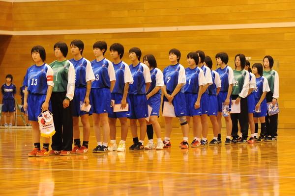 韓国戦に臨むU−16日本女子代表
