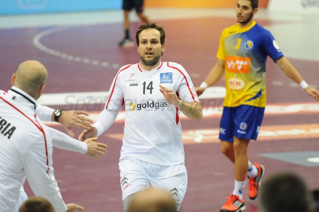 オーストリアに大会初勝利をもたらしたエース・シラギ。日本代表が最後に出場した2011年大会(スウェーデン)で対戦した際にも出場していた