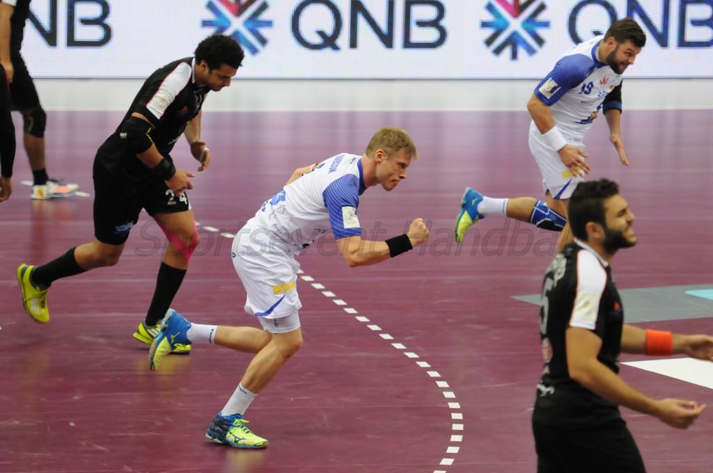 素晴らしいプレーを見せたアイスランドのG・シグルドソン