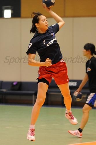 チームの頼れる得点源の藤田にはアジアジュニア選手権でも期待がかかる