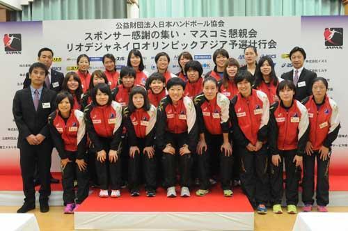 リオ・オリンピックアジア予選に臨むおりひめジャパン